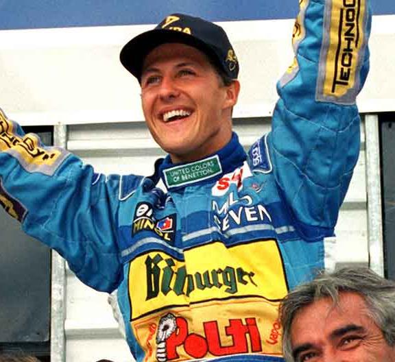 1994 World Champion - Michael Schumacher (Germany)