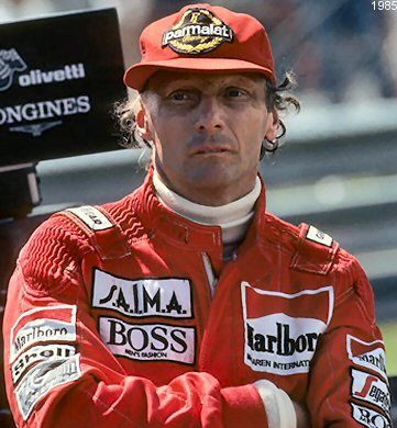 1984 World Champion - Niki Lauda (Austria)
