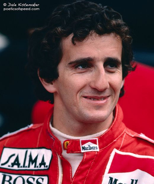 1986 World Champion - Alain Prost (France)