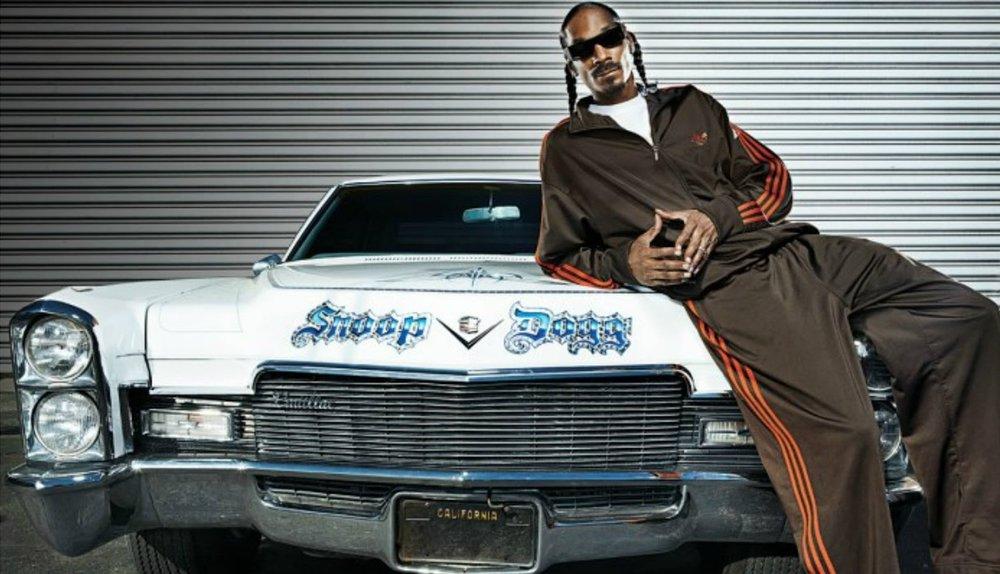 Snoop Dogg and his '65 Cadillac