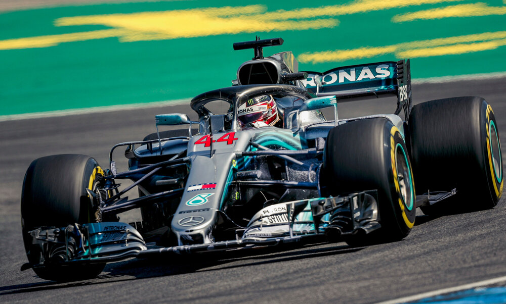 2018 - Mercedes AMG Petronas Motorsport