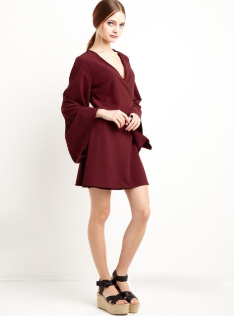 Photo via Pixiemarket.com Pixie Market, Kimono Wrap Dress; $69
