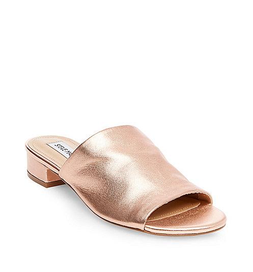 BRIELE Sandal, $80;  Stevemadden.com
