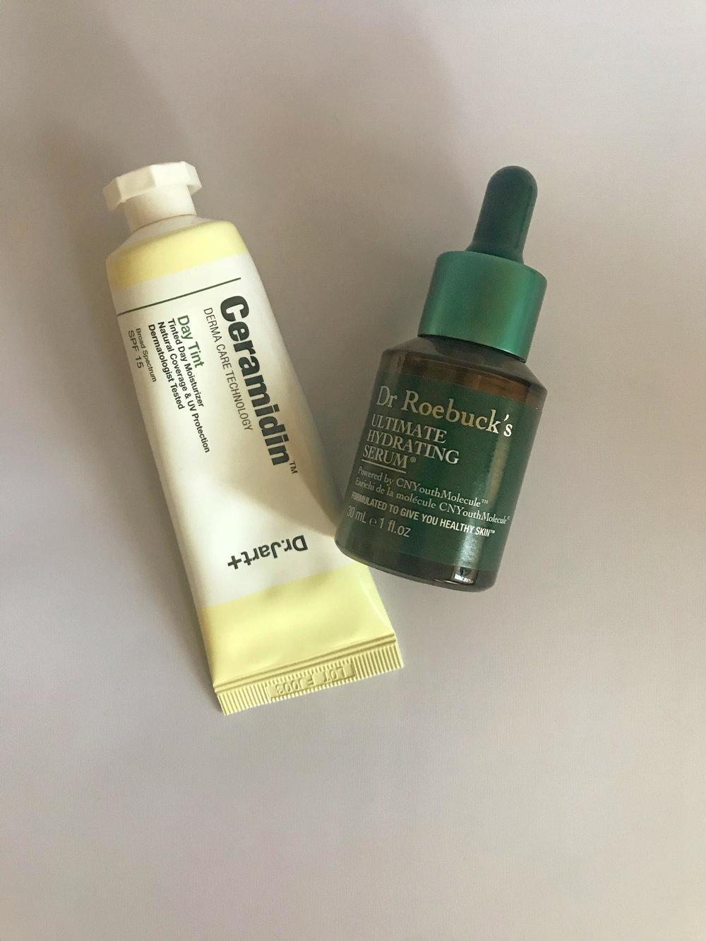 Ceramidin Day Tint , $48;  Dr. Roebucks Ultimate Hydrating Serum , $56
