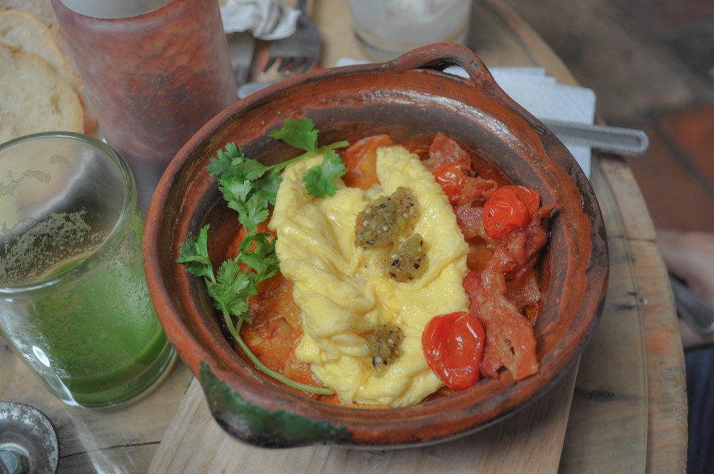 Cazuela  Breakfast at  Lavanda