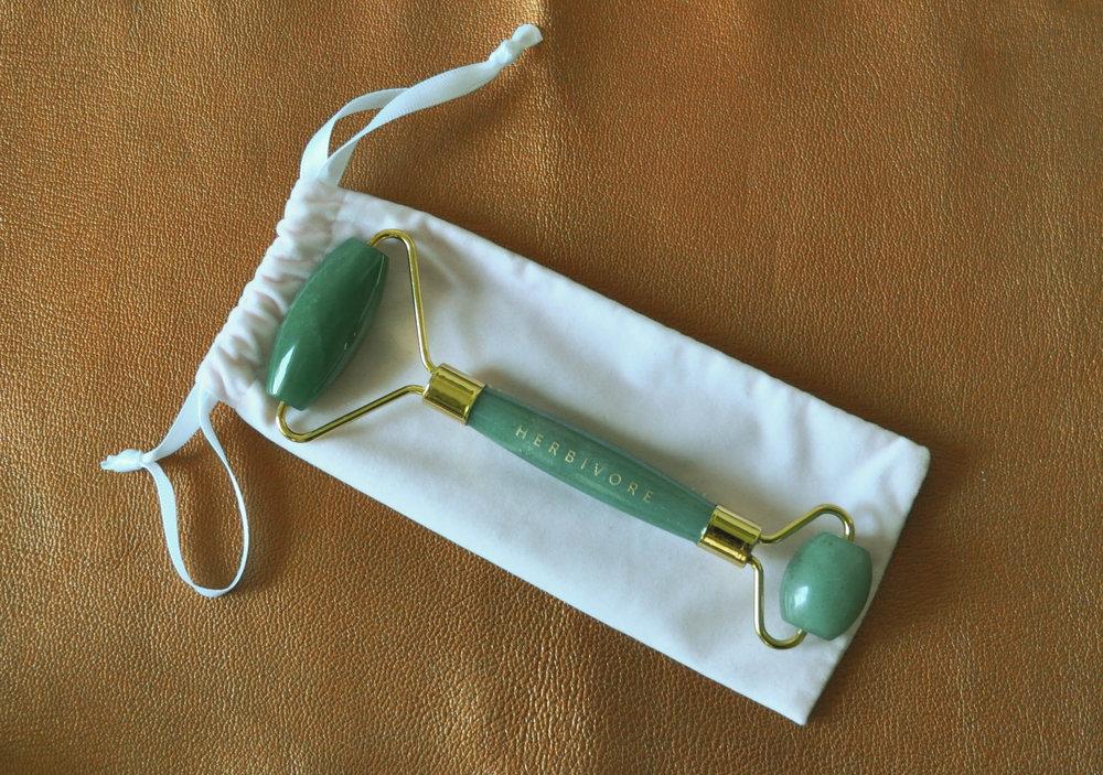 Herbivore Jade Facial Roller, $30