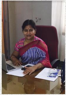 Dr.Sujatha Gopal Sooraparaju,Vice-Principal, MNR Dental College, Andhra Pradesh .