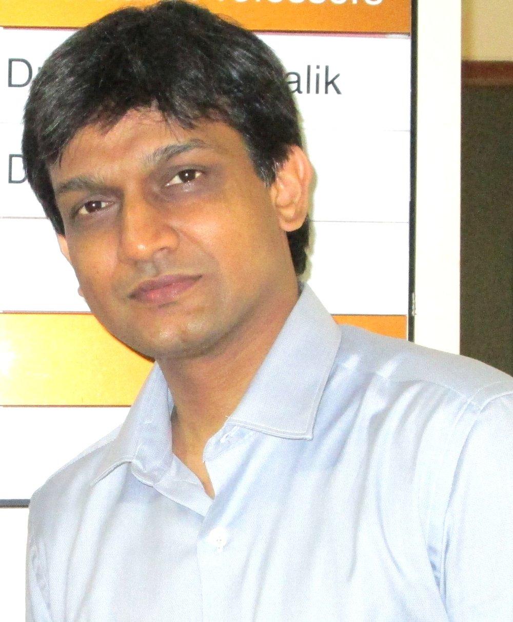 Dr.Raghu Radhakrishnan - Professor and Head of Oral Pathology, CODS, Manipal.