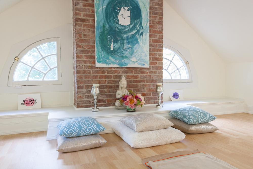 Our Serene Meditation Room