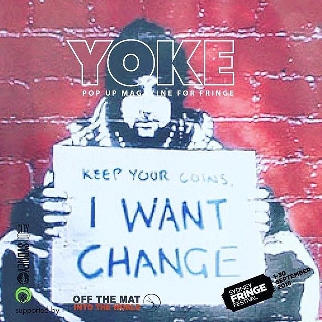 #Repost @yokemag ・・・ Sustainable activism is different than a puff of indignant action.  Please do join us for this discussion panel of leaders in organisations that practice sustainable long term activism. How does the notion of duty sit with them?  Do they act from a sense of duty towards their community; their own moral compass or the notion of a better day? What exactly makes a successful activist tick?  This discussion panel will be followed by Yarn Circles, providing the opportunity for us all to dig deeper into our own notions and motivations concerning social change. Panel includes Warren Roberts, Youth Awareness Raising Network (YARN), Larissa Baldwin, Seed National Co-Director – SEED and Rev. Graham Long, CEO and Pastor, The Wayside Chapel, Kings Cross.  Doing Duty at the Redfern Community Centre  In partnership with YOKE magazine for Sydney Fringe  Tickets $15  Visit our website and click on events to book now.