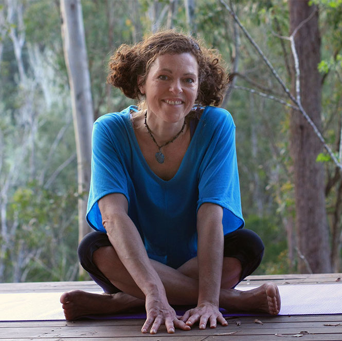 NICKY WEST   Nicky teaches yoga, and loves nature, the mystical and the magical. She also loves creative expression and has spent 15 years working as an actress and dancer.  Having grown up in the UK, she now enjoys some space and sunshine living in the Australian bush, teaching yoga classes and workshops in the Hunter Valley and 1:1 sessions via Skype or in-person.  Her passion and skill is in helping you to deepen your yoga practice and life in a way that is unique to you. She work with yoga, creative exercises and inquiries, voice-work, story telling, mantra, meditation and various other healing and creative tools depending on what you resonate with.
