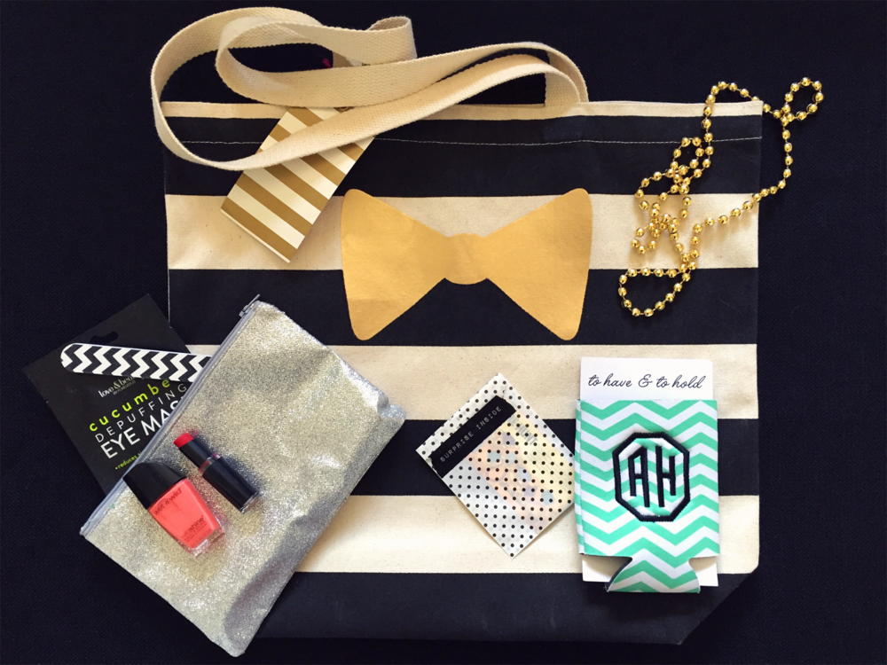 Retro Palm Springs Bachelorette Party Swag Bag