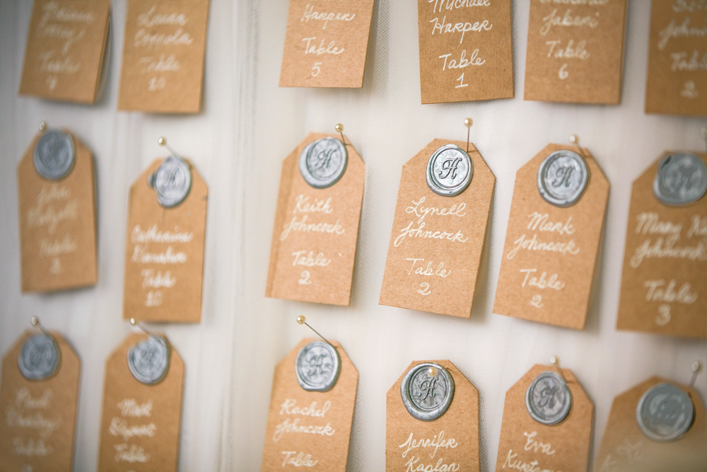 Wax Seal Placecards