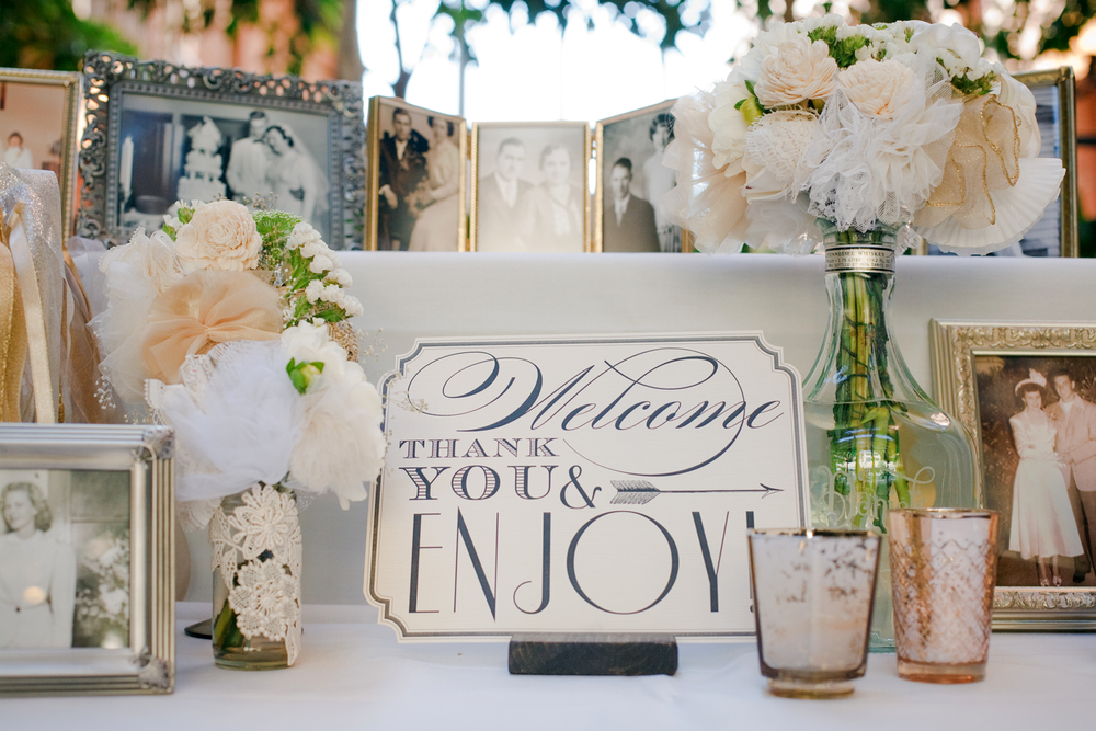 Wedding Welcome Signage
