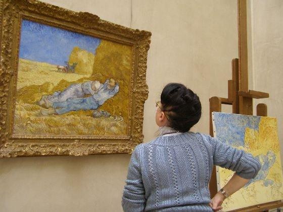 Seeing Van Gogh at Musée d'Orsay.
