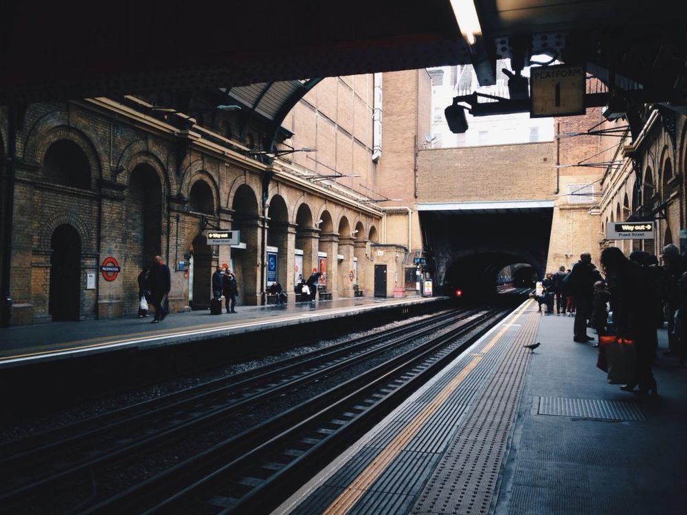 Paddington Station, my first hub to the city centre.