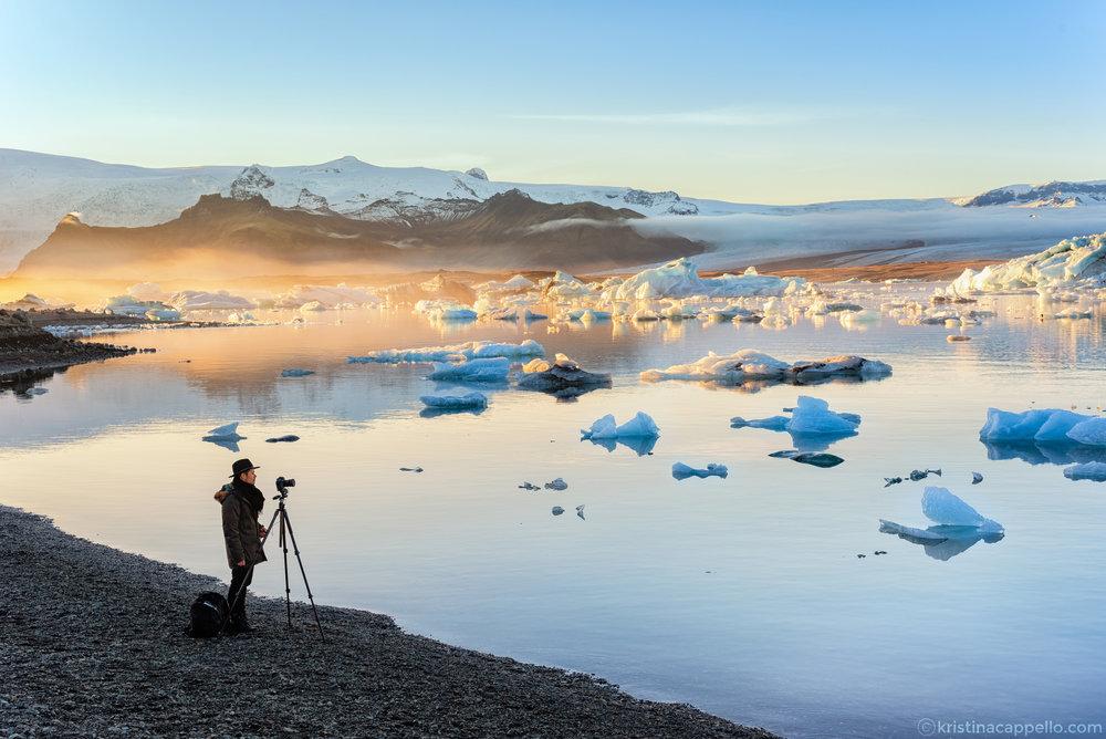Glacier Lagoon,Jökulsárlón Iceland