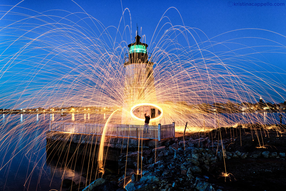 Newport Harbor Light, Newport Rhode Island