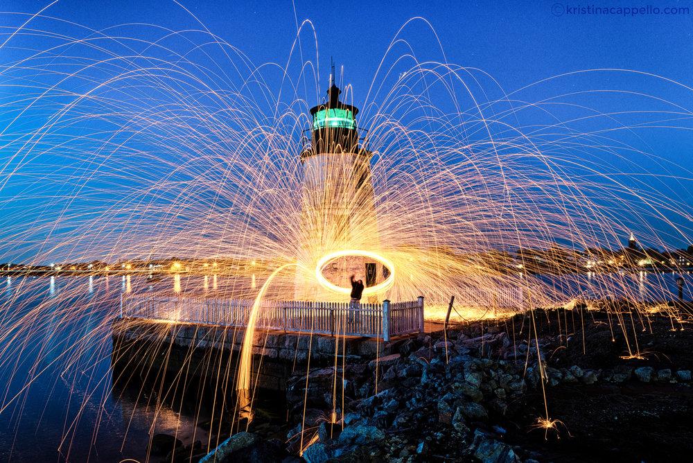 Newport Harbor Light, Newport Rhode Island