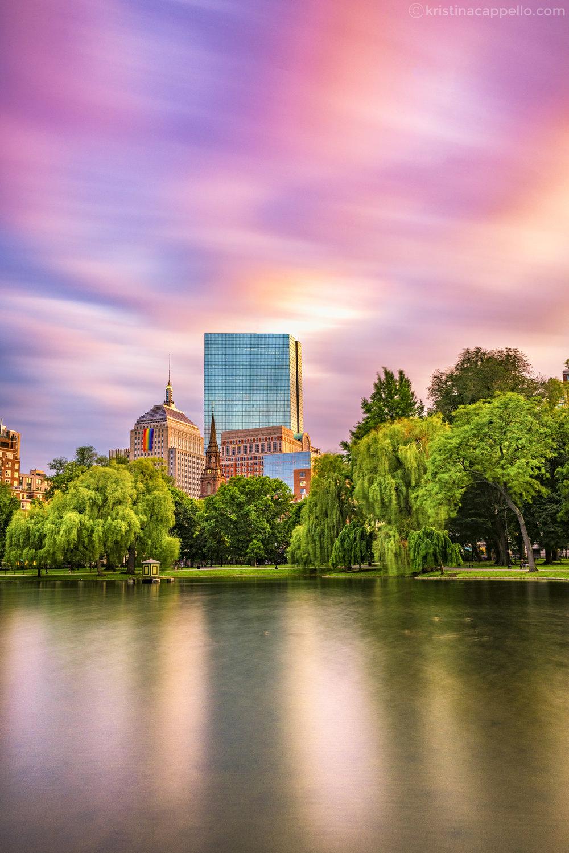 Public Garden, Boston Massachusetts