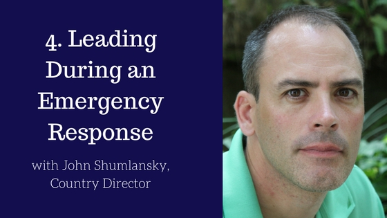 How to Lead During an Emergency Response