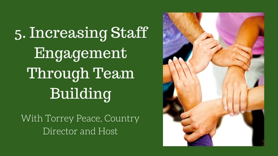 Increasing Staff Engagement Through Team Building