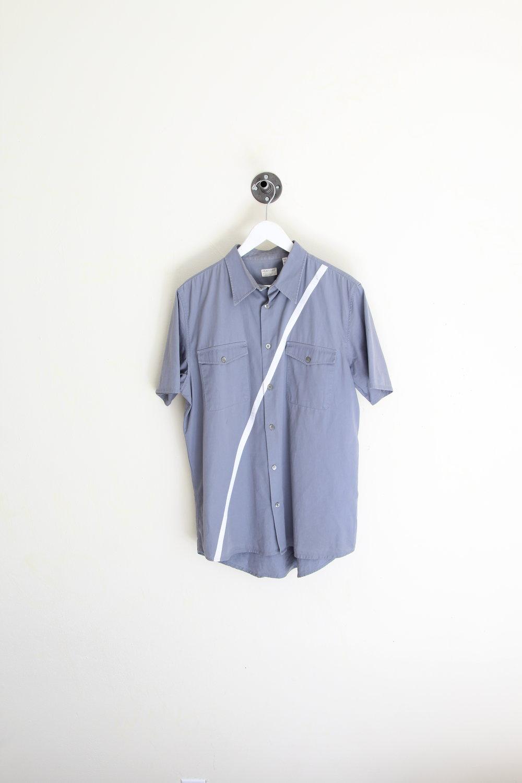 Helmut Lang SS 1998 Silk Stripe Shirt