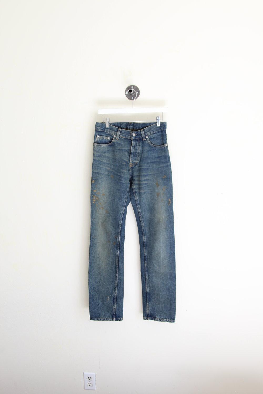 Helmut Lang Golden Painter Jeans