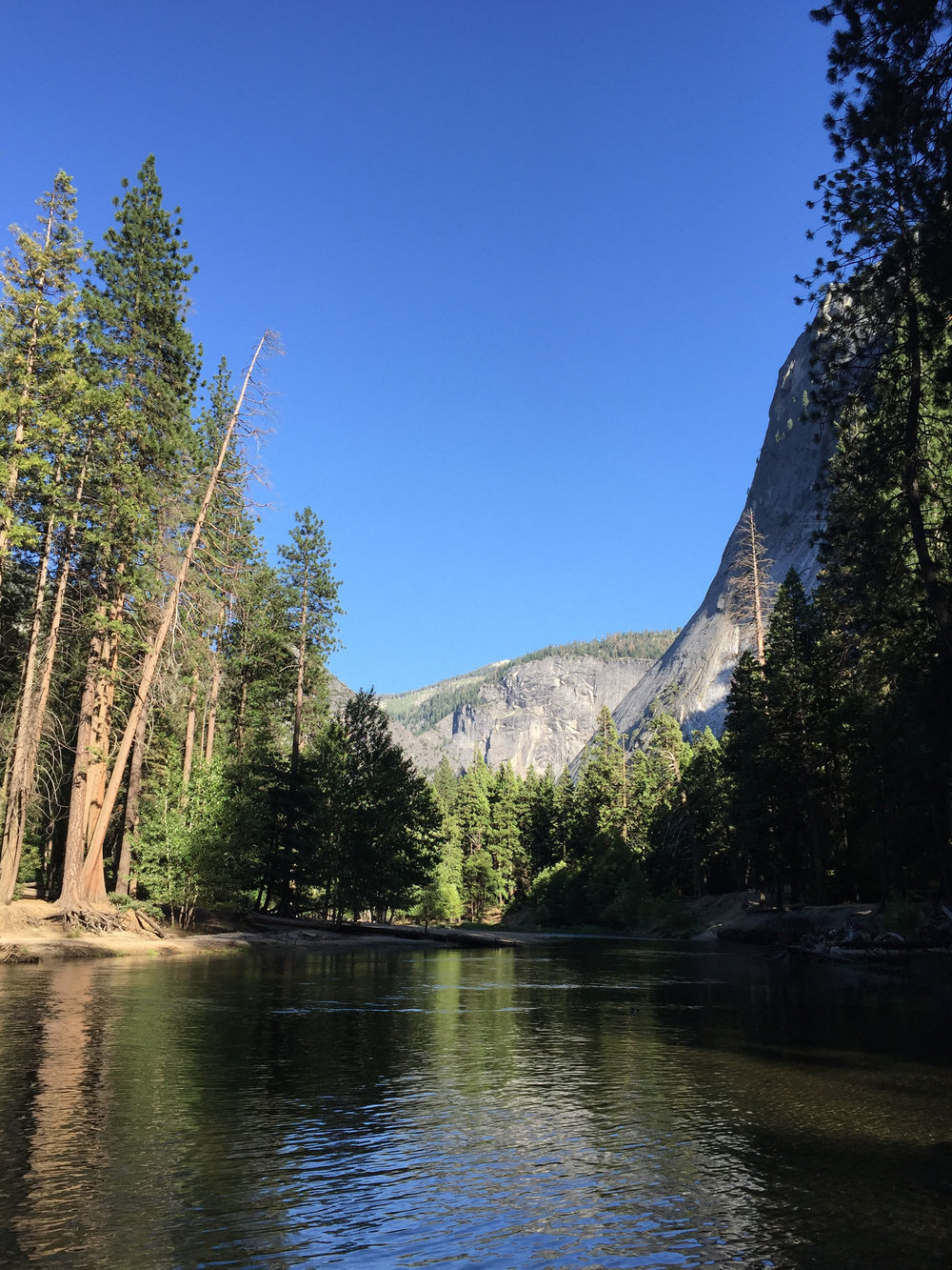 Merced River, Yosemite National Park, California, 2016.