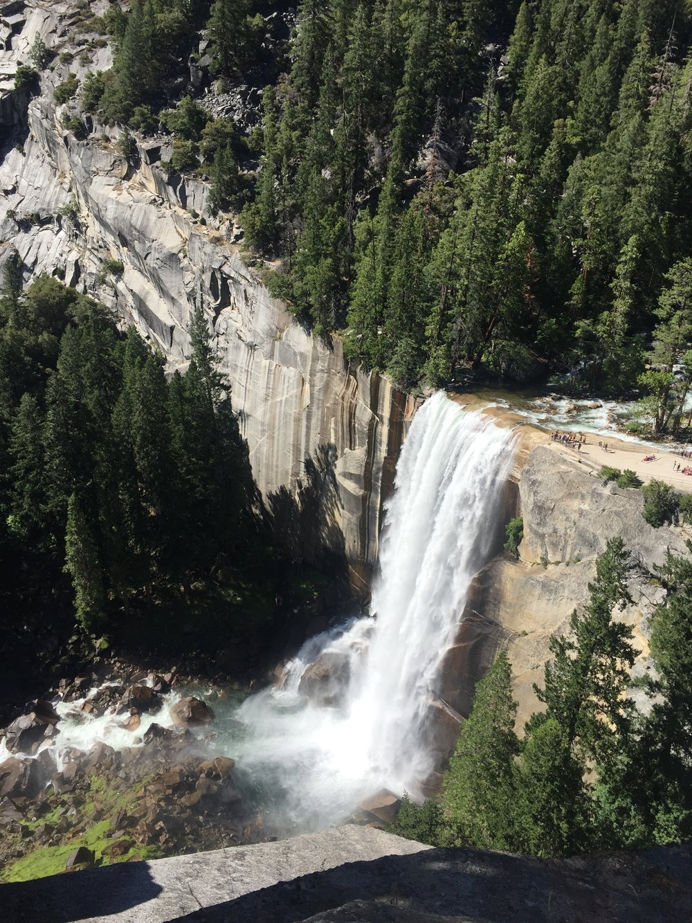 Vernal Falls, Yosemite National Park, California, 2016.