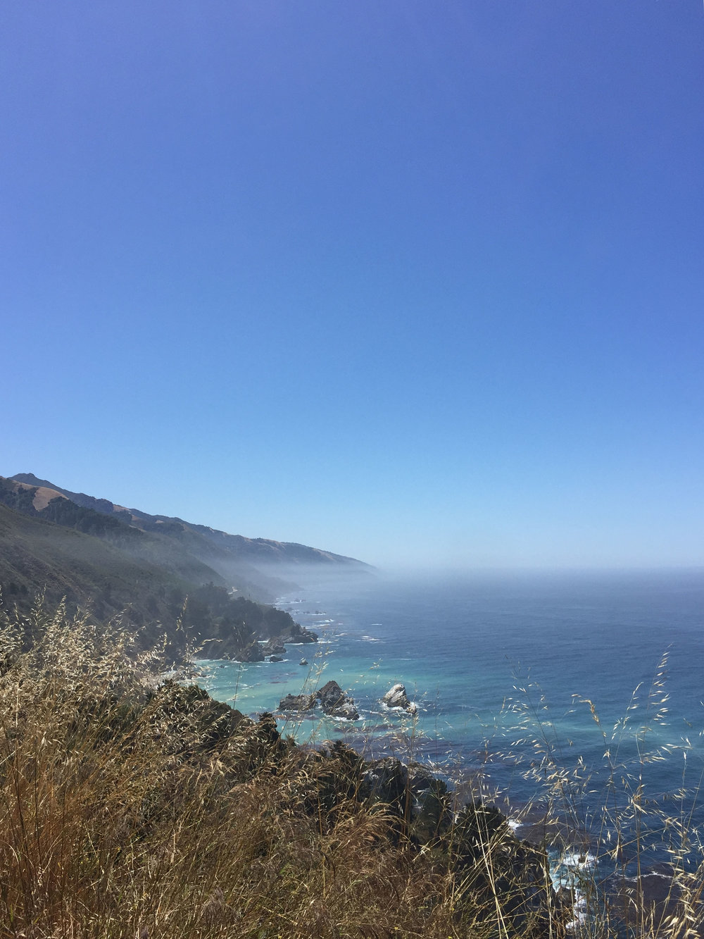 Big Sur, Pacific Coast Highway, California, 2016.