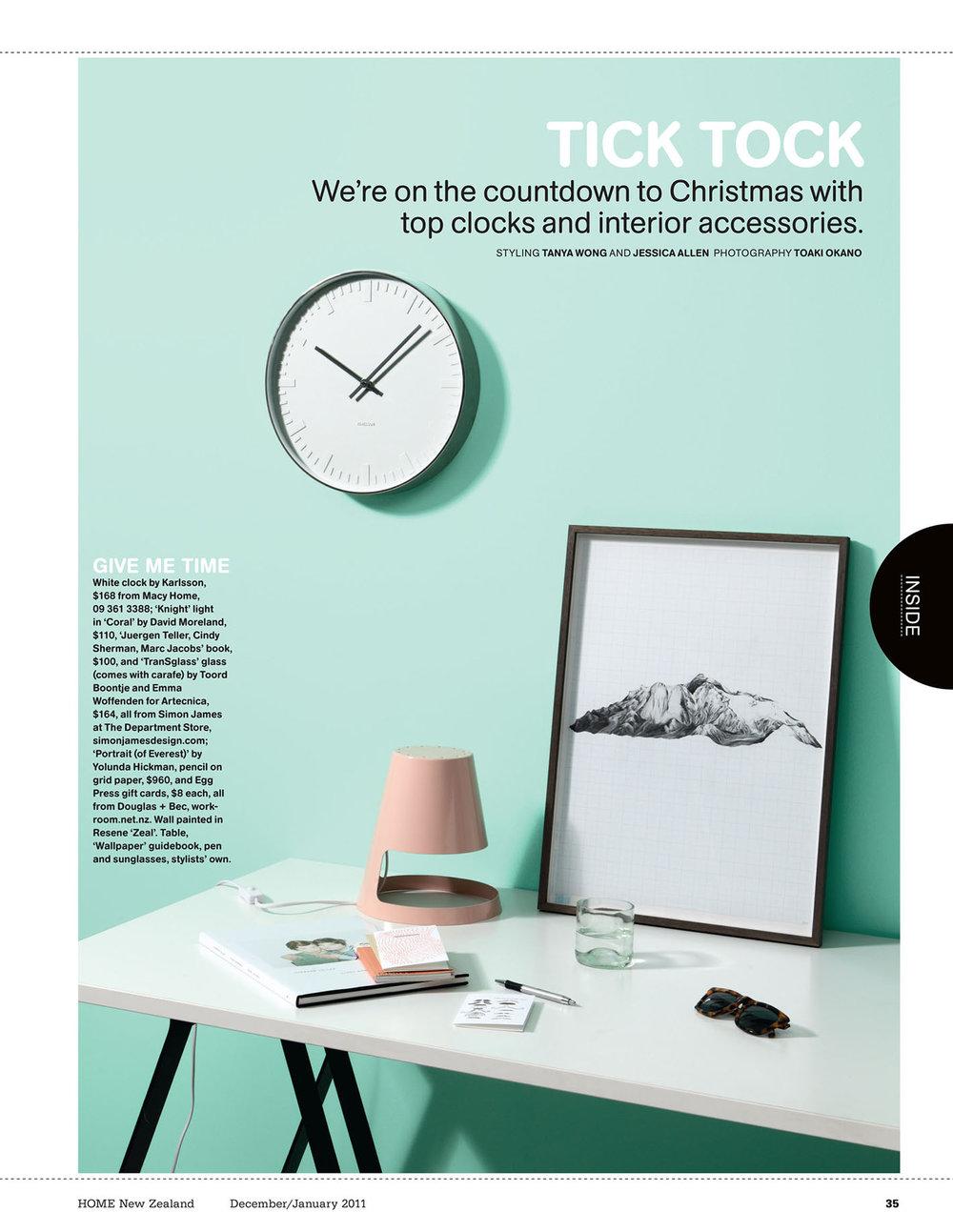 Styling / HOME NZ Magazine — Jessica Allen