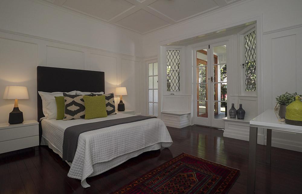 Bedroom of Brisbane home