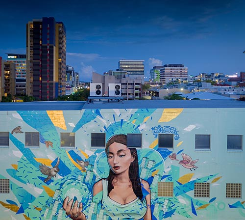 Street art, Brisbane.