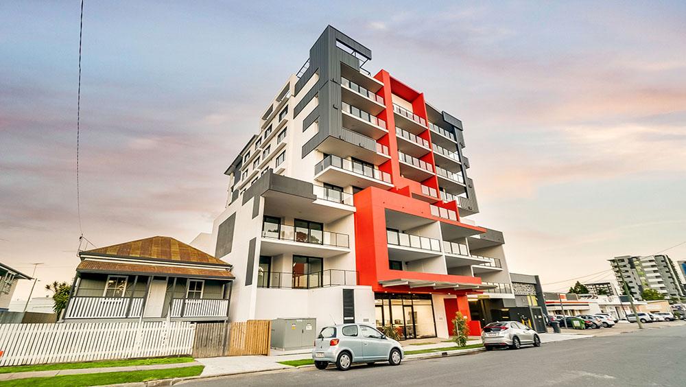 Real estate photography — apartment block, Brisbane