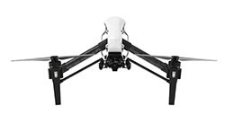 DJ Inspire drone — the drone used by Sure Shot Film's experienced operators use as a standard for their aerial video and photography work.