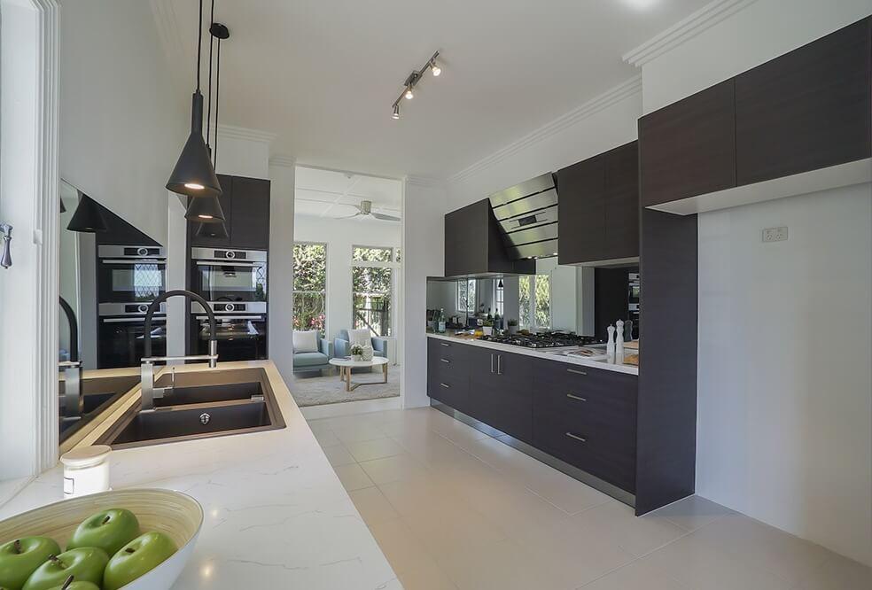 Spacious family kitchen — internal real estate photography