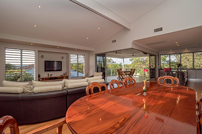Real estate photography of glamorous home in Brisbane