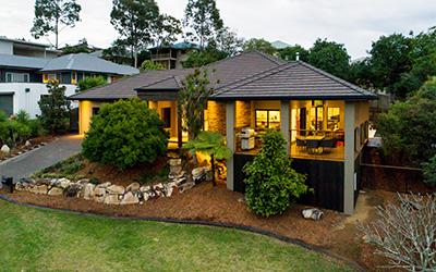 Real estate photography drone aerial Brisbane home