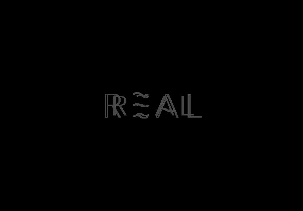Reality logo byron design