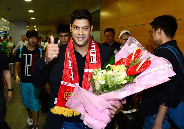 Hulk to earn £320,000-a-week with Chinese Super League's Shanghai SIGP
