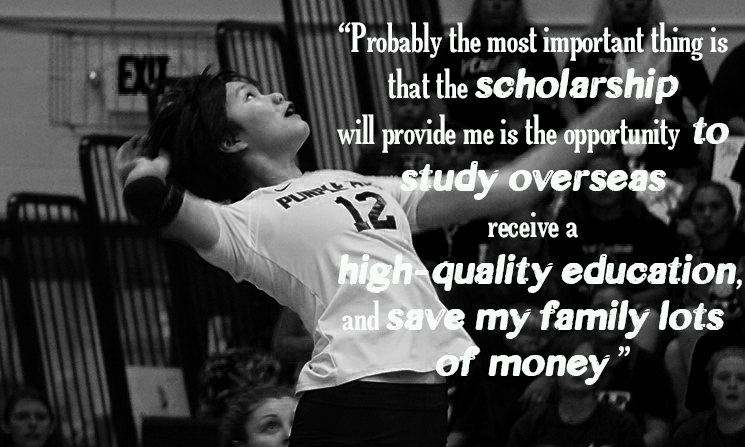 """ This is why Rachel approached  Affinity Sports and Education , an entity compromised to take the Hong Kong talents in sports to Universities across USA, Hong Kong and Canada."""