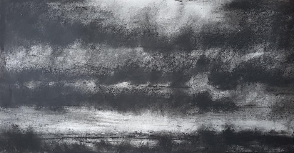 As Night Descends, Somerset II 75 x141cm.jpg