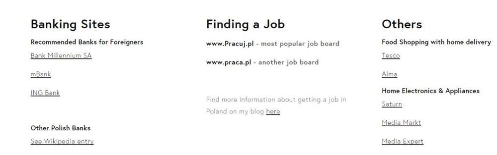 Poland Bank, job in poland, food delivery, home poland