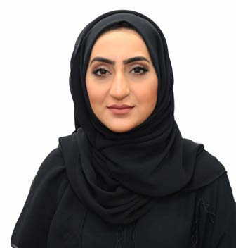 Maryam Bin Ali, Acting Manager, Customer Service, Finance Affairs and Administration Department, Dubai Civil Aviation Authority (DCAA)