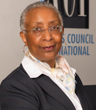 Angela Gittens,  Director General, ACI World