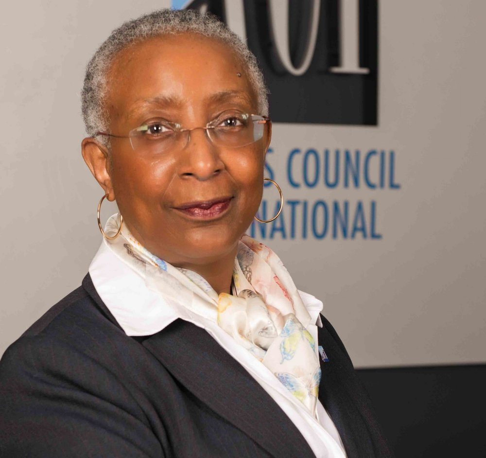 Angela Gittens,  Director General, Airports Council International (ACI)