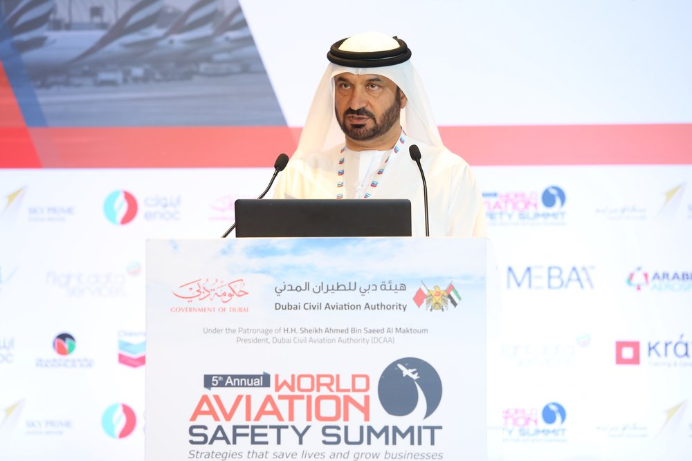 Khaled Al Arif, Executive Director Aviation Safety and Environment at DCAA.JPG