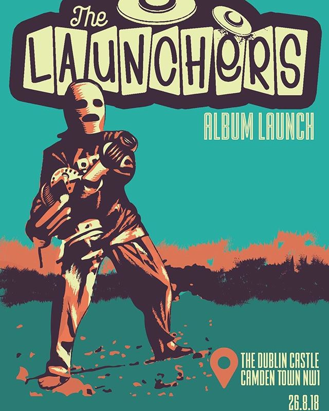 We're really excited to announce we'll be holding our album launch at Dublin Castle, Camden on 26th August 2018. Tickets going quick so make sure you book yours through the link in our bio!!! #ska #music #band #thelaunchers #duttymouth