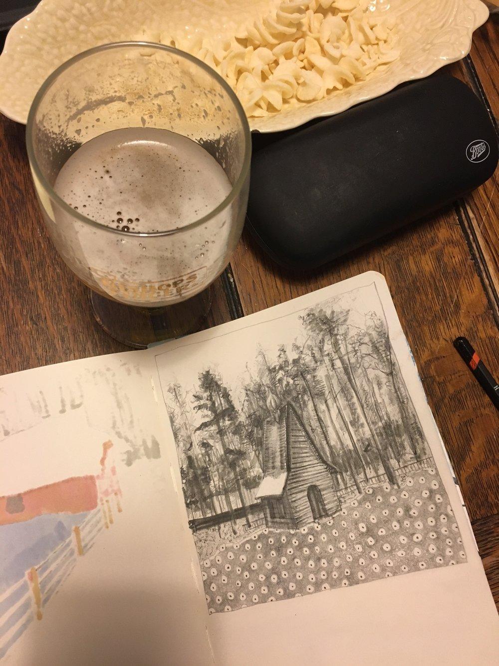 Drawing In Spain